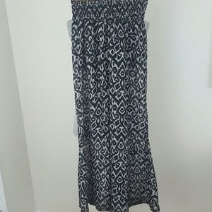 Show Me Your MuMu black and gray bell bottom pants